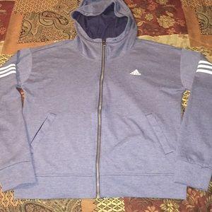 Adidas full-zip hoodie💙